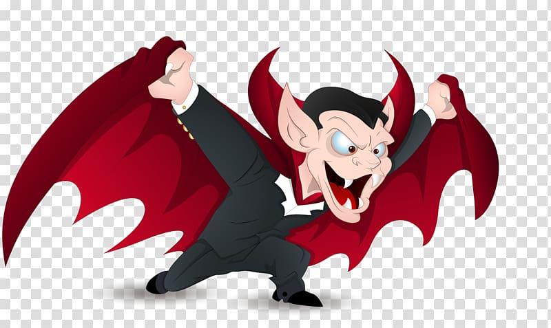 Count dracula devil cartoon. Vampire clipart animated