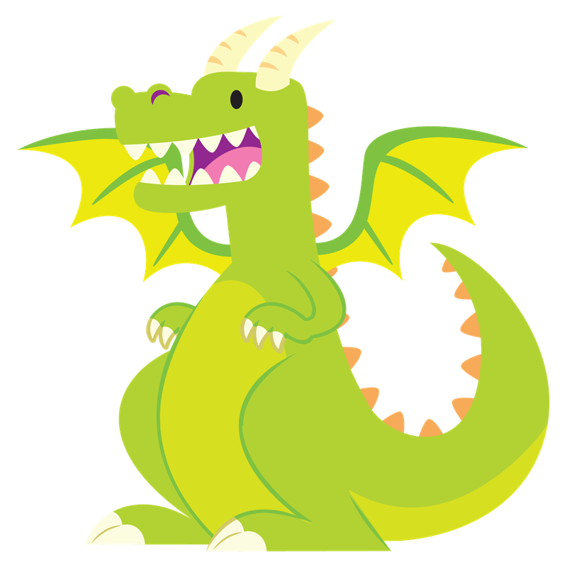 Who wants a story. Dragon clipart