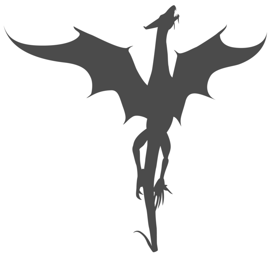 Dragon clipart dragon symbol. Tattoos non free on