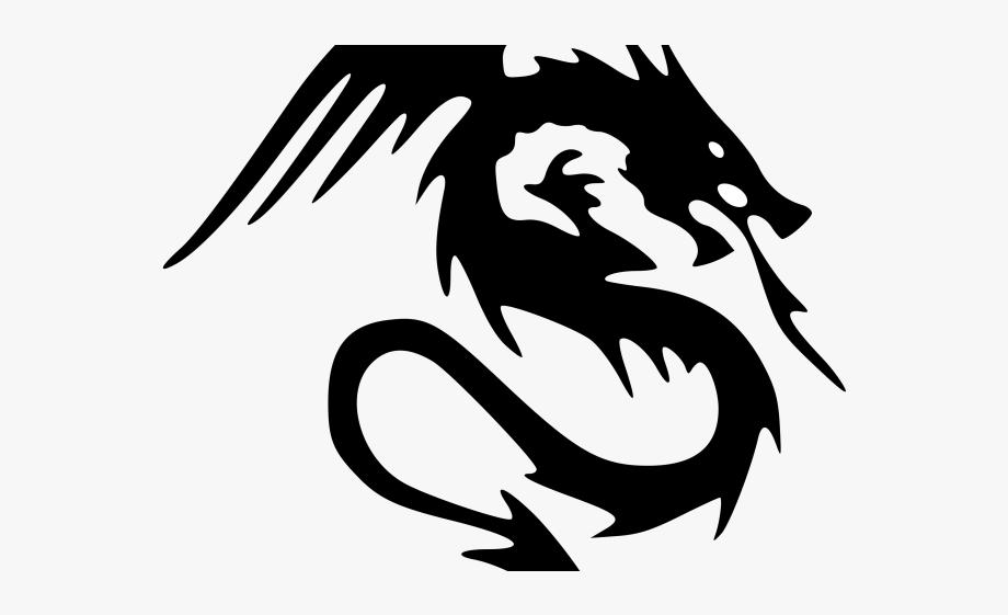 Tattoos medium clip art. Dragon clipart dragon symbol
