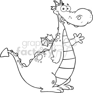 Royalty free images graphics. Dragon clipart friendly dragon