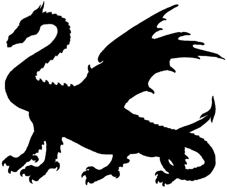 Free of thrones silhouette. Dragon clipart game throne
