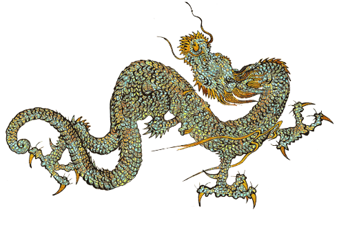 Great pictures of cool. Dragon clipart golden dragon