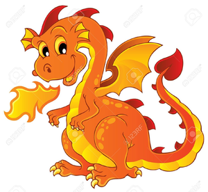 Fire breathing images at. Dragon clipart royalty free