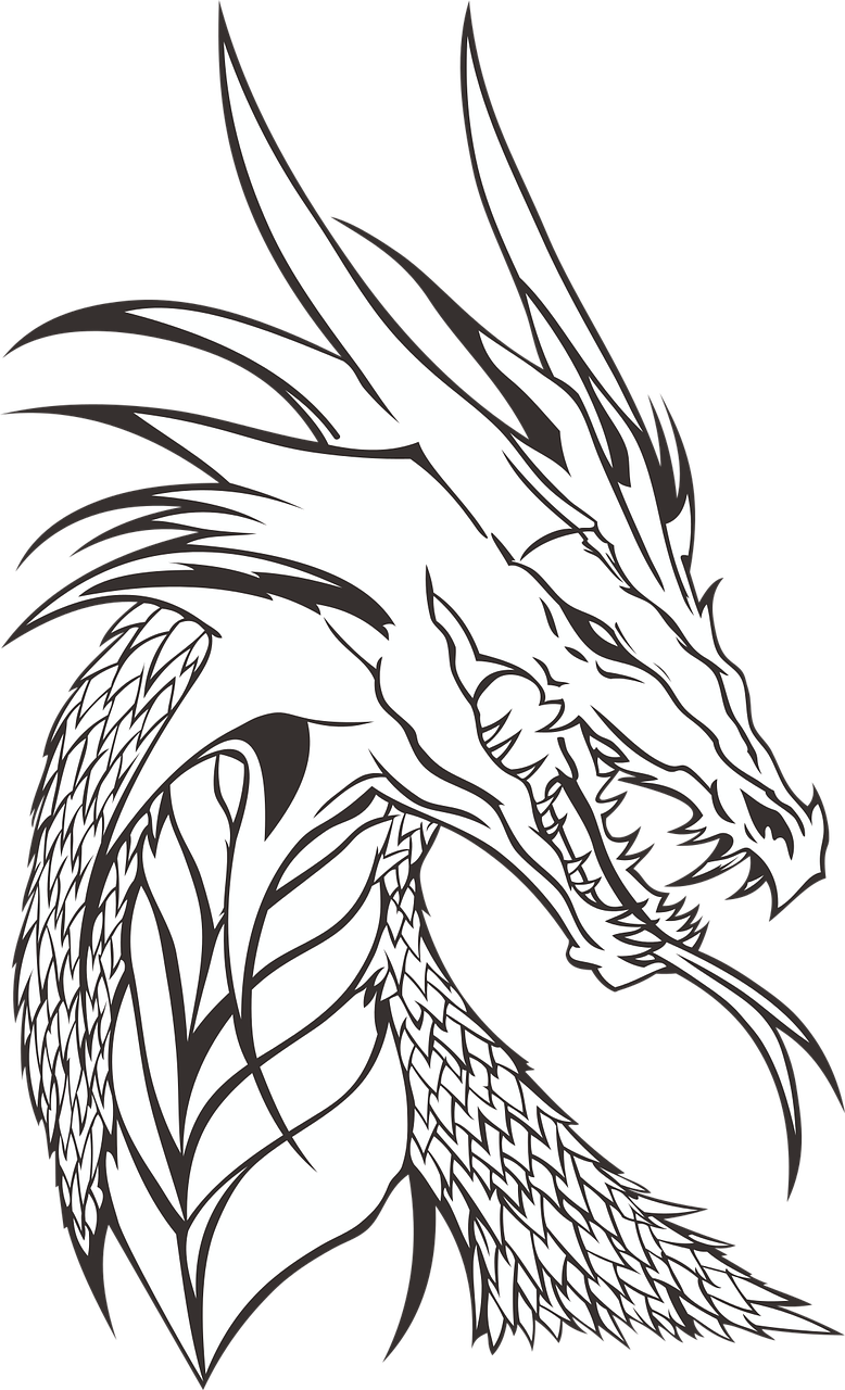 Dragon clipart st georges day. Free image on pixabay