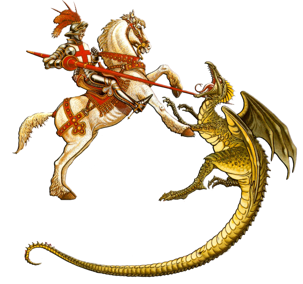 collection of george. Dragon clipart st georges day