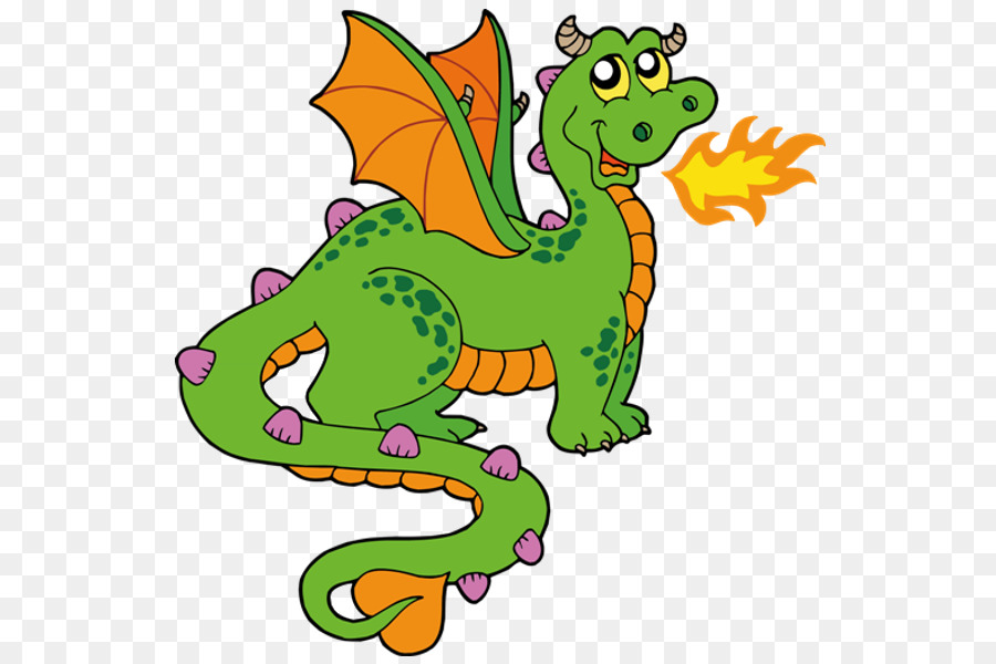 Fire breathing png download. Dragon clipart transparent background