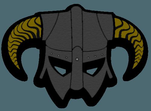 Dragonborn helmet png. Douwe egberts logo image
