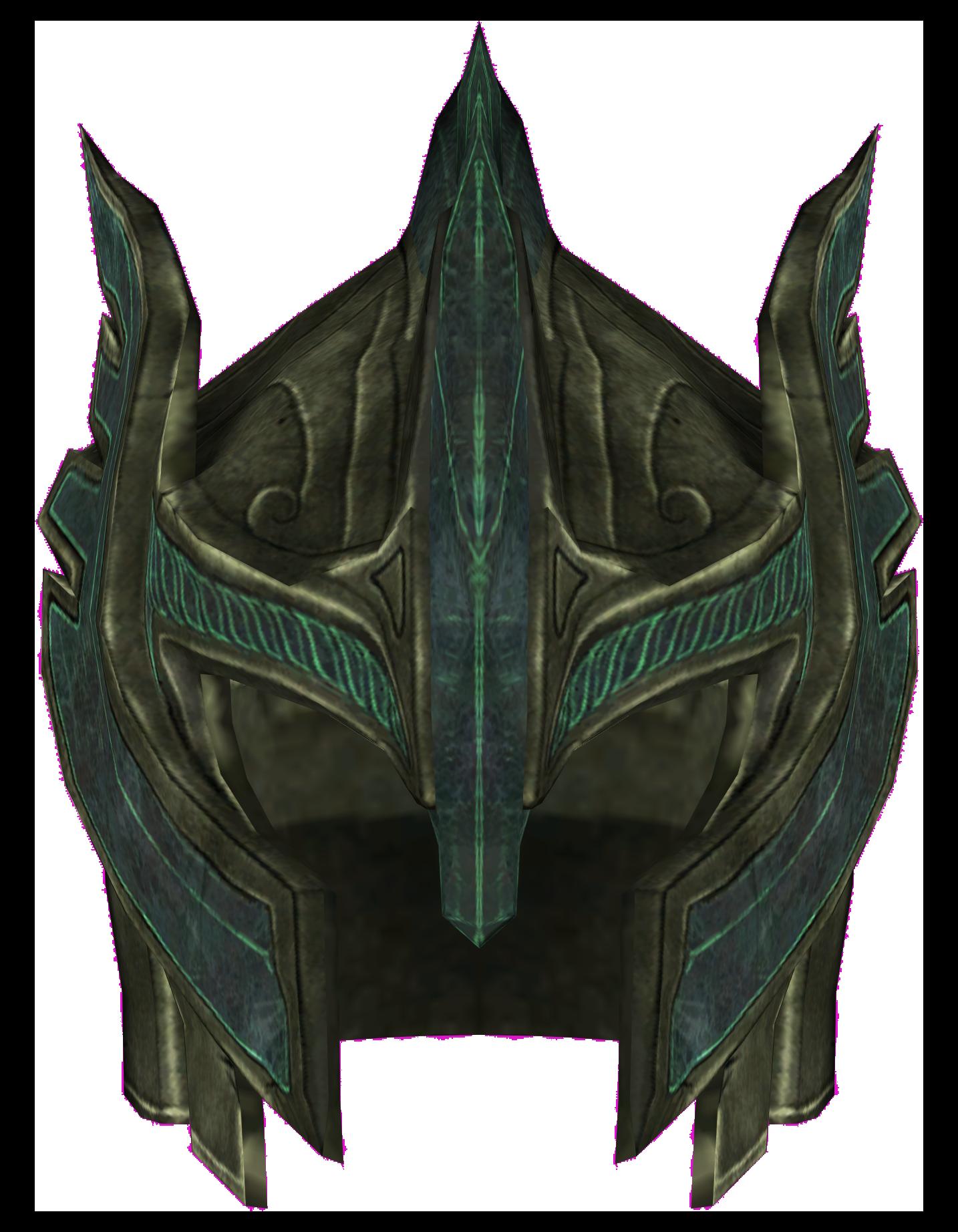 Image glass skyrim elder. Dragonborn helmet png