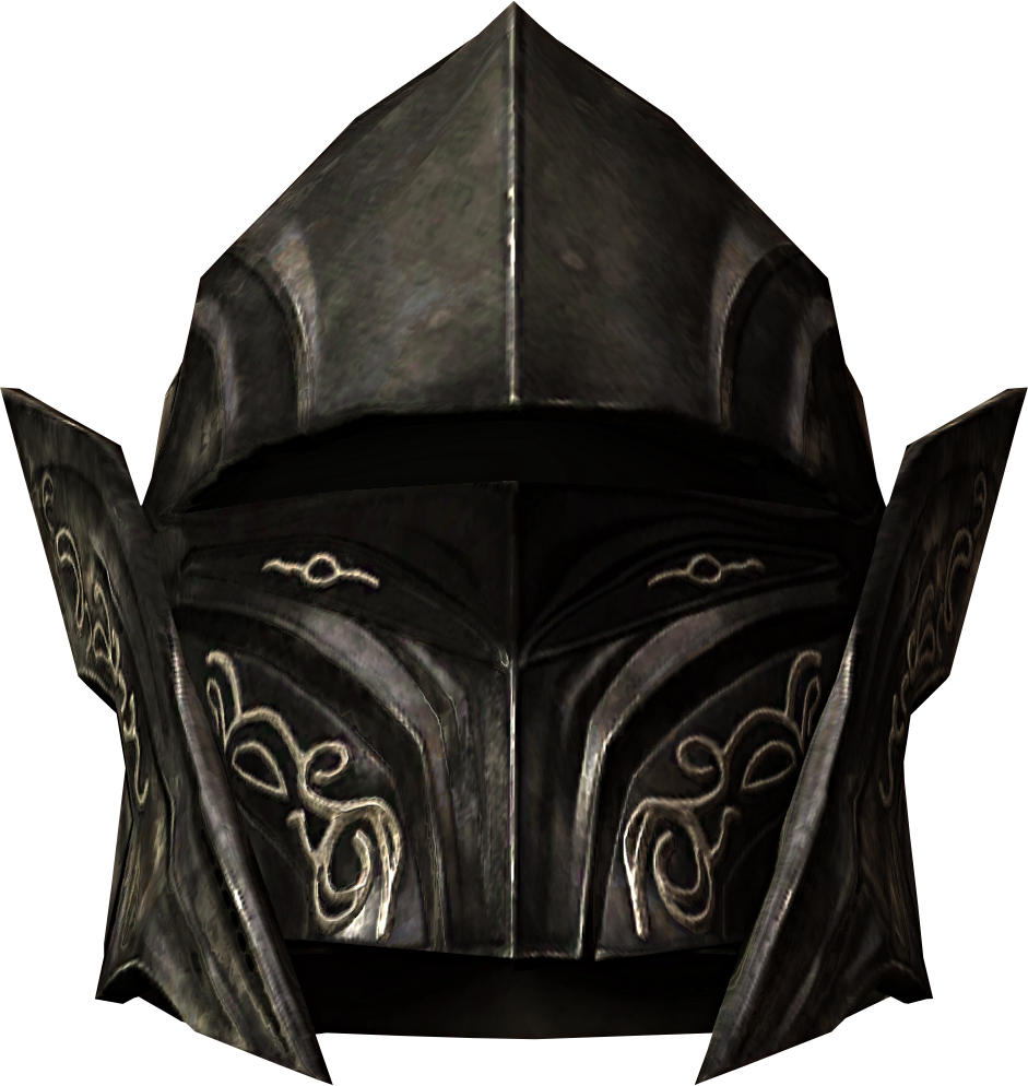 Ebony skyrim armor pinterest. Dragonborn helmet png