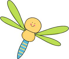 Dragonfly clipart. Free clip art border