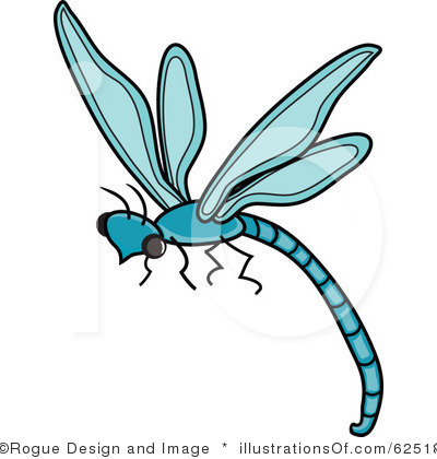 Dragonfly clipart. Black and white panda