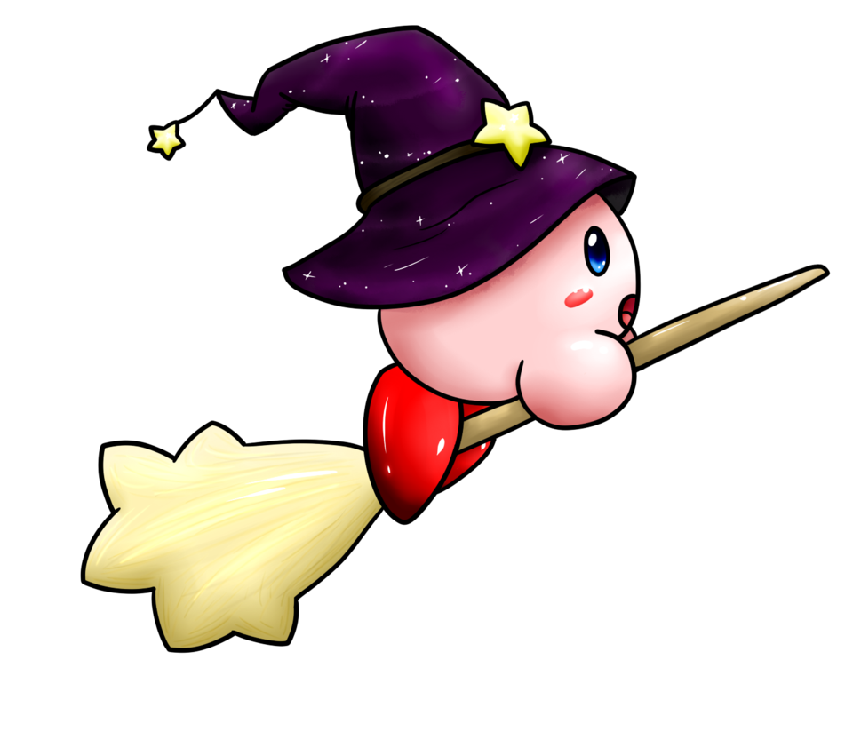 Dragonfly clipart brb. Witch kirby by minidragonfly