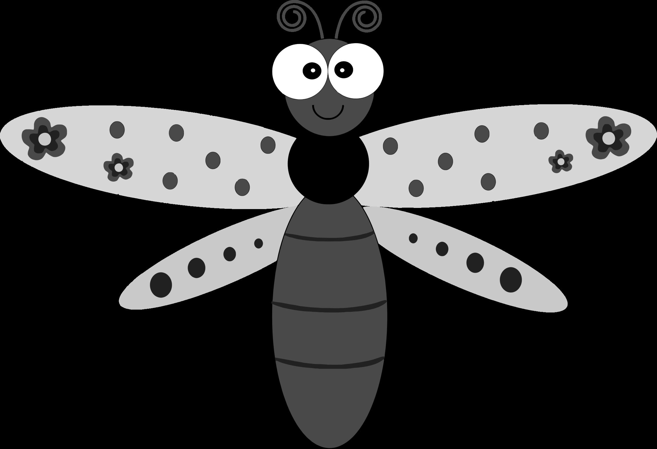 Dragonfly clipart cartoon. Clipartblack com animal free