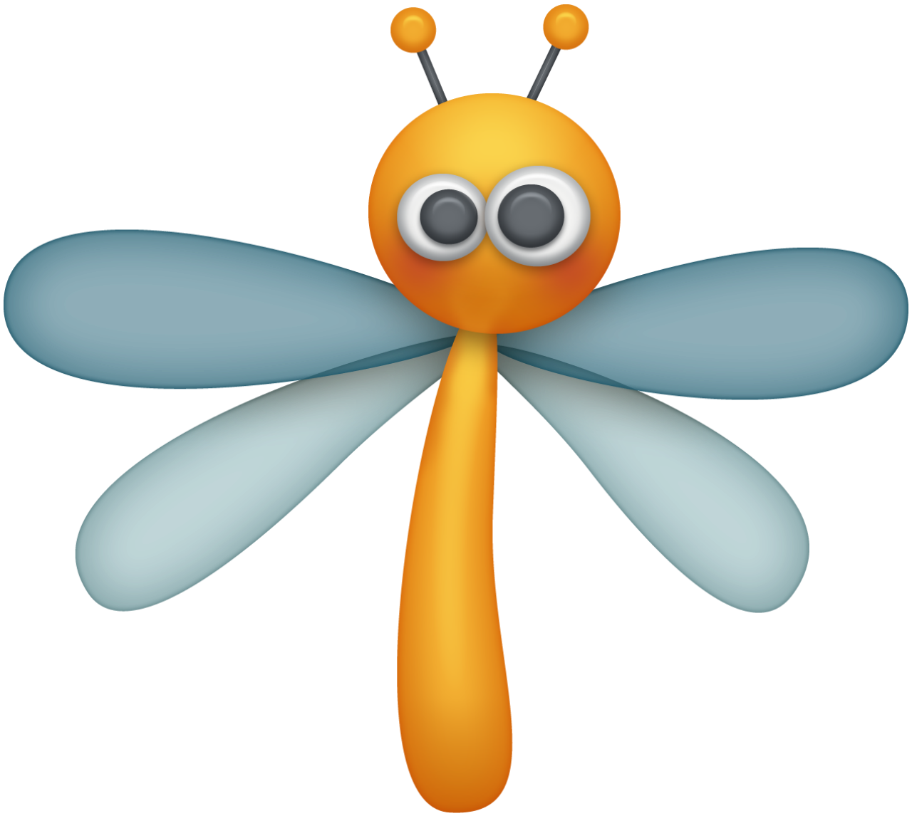 fcdd d orig. Dragonfly clipart creative