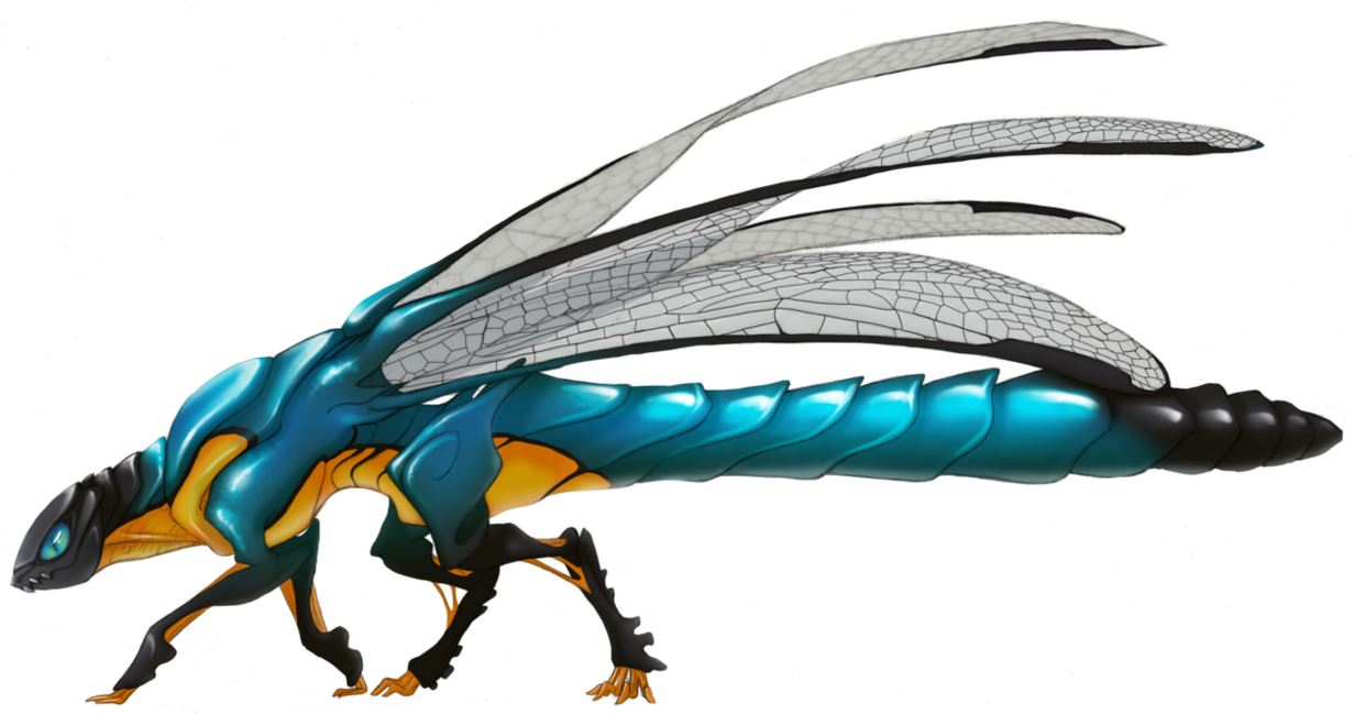Firefly clipart dragonfly. Dragon by greyanimebeast on