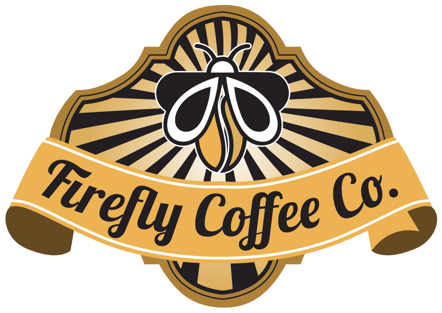 Coffee company . Dragonfly clipart firefly