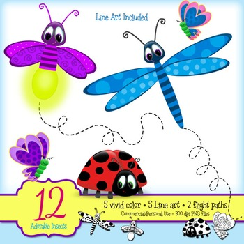 firefly clipart dragonfly
