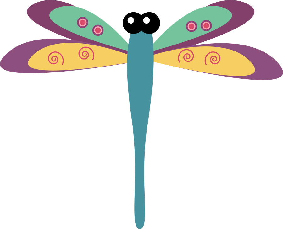 ugs bichos pinterest. Dragonfly clipart garden insect
