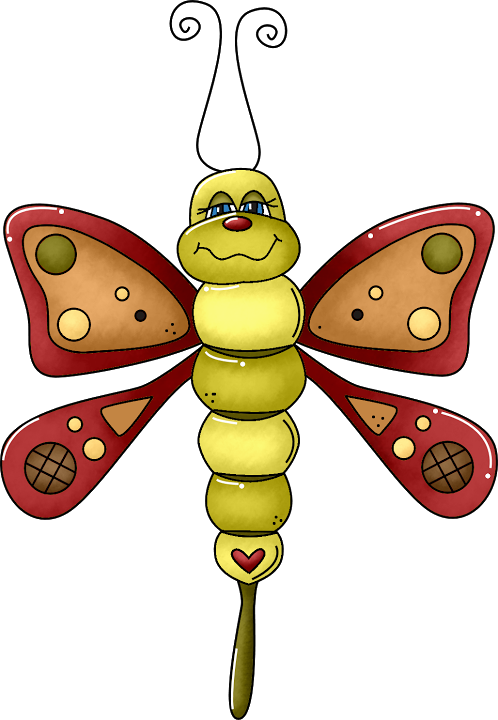 Dragonfly clipart garden insect. Pin by naenae nanny