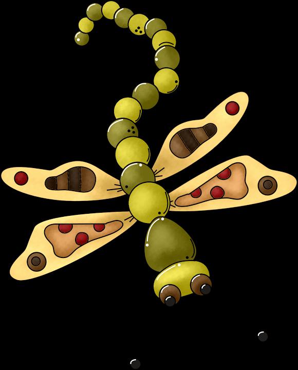 Mariposas lib lulas manualidades. Dragonfly clipart mothers day