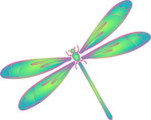Outline panda free . Dragonfly clipart psychedelic