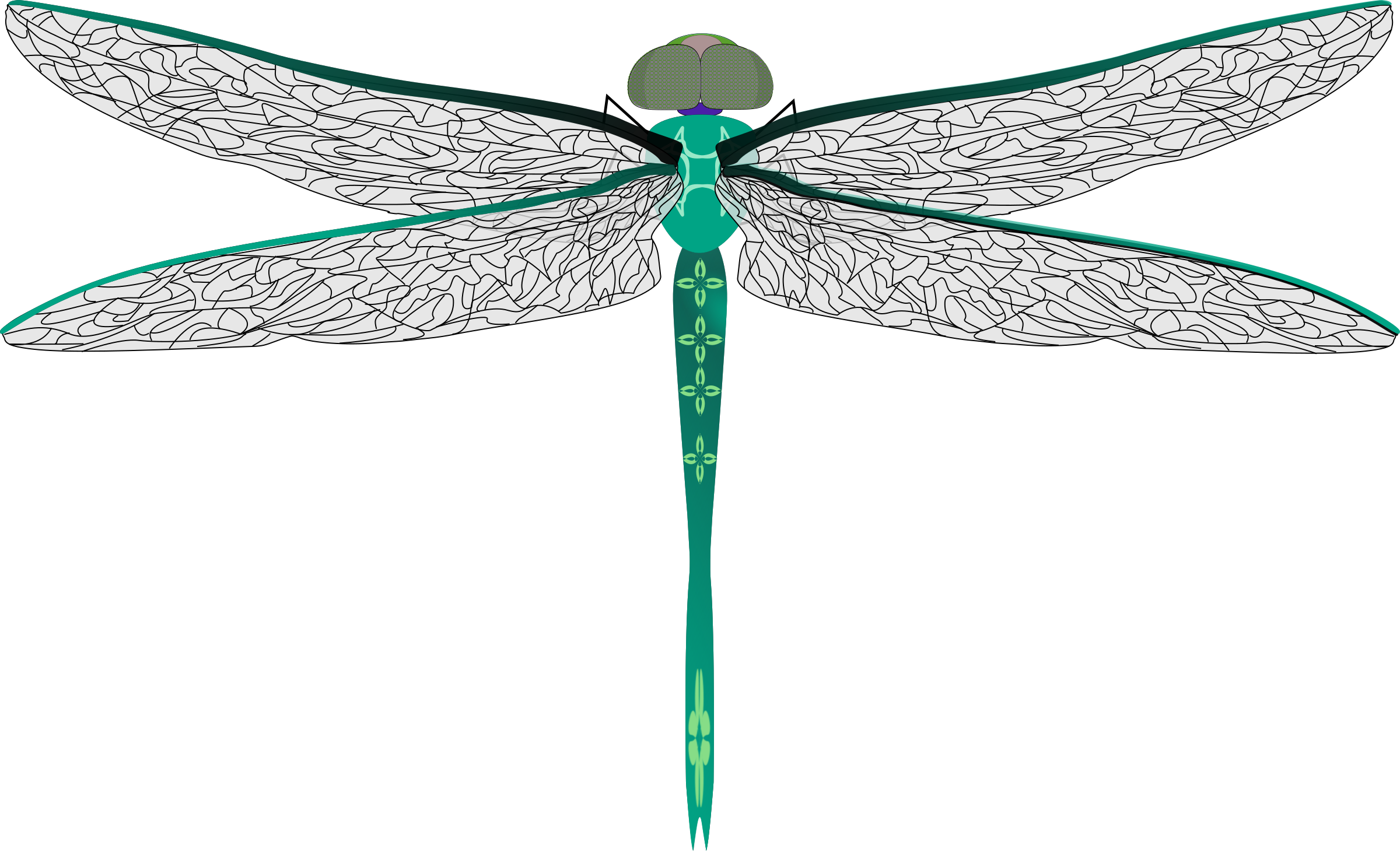 Teal big image png. Dragonfly clipart summer
