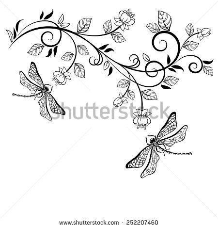 Dragonfly clipart swirl. Swirls stock photos images