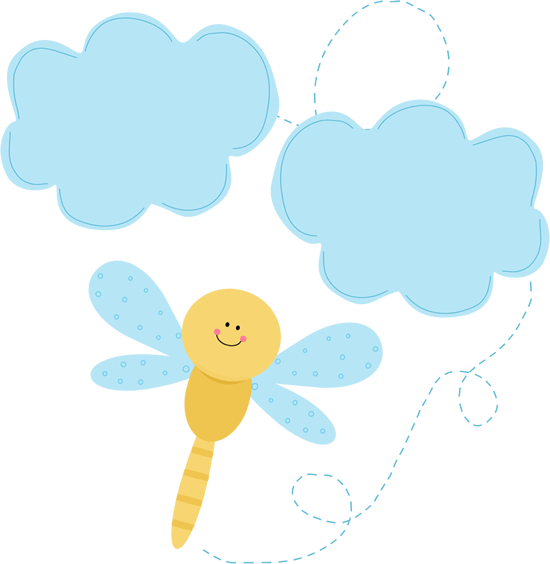 Clip art images in. Dragonfly clipart two