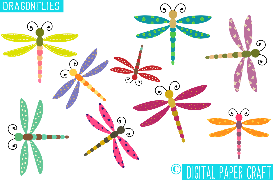 Dragonfly clipart whimsical. Dragonflies whimsy
