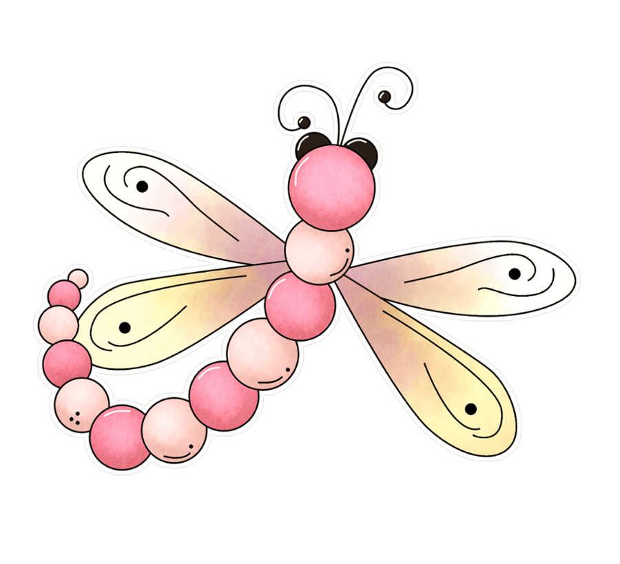 Flower clipart dragonfly. Butterfly printables pinterest dragonflies