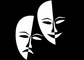 Masks dsf clip art. Drama clipart