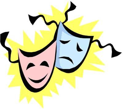 Drama clipart. Theatre