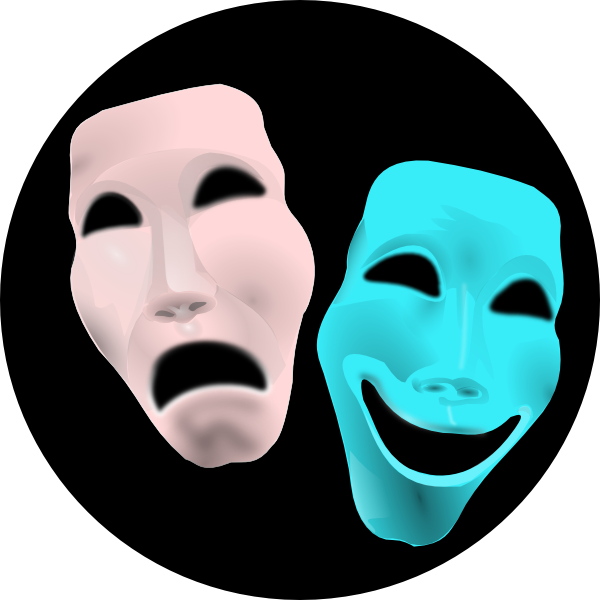 Theater sign clip art. Theatre clipart actor actress