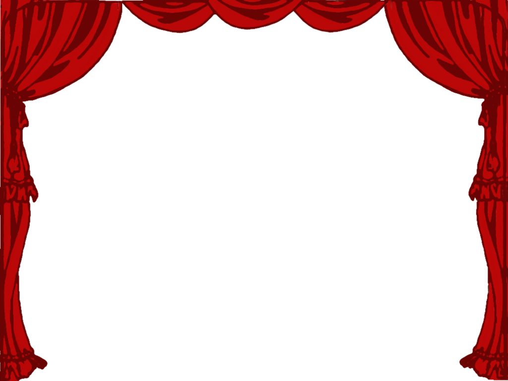 Free play theater cliparts. Theatre clipart border