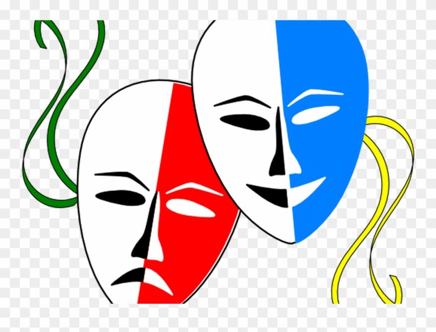 Drama clipart cartoon. Masks best png download