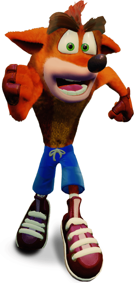Crash bandicoot character bandipedia. Pirates clipart scar