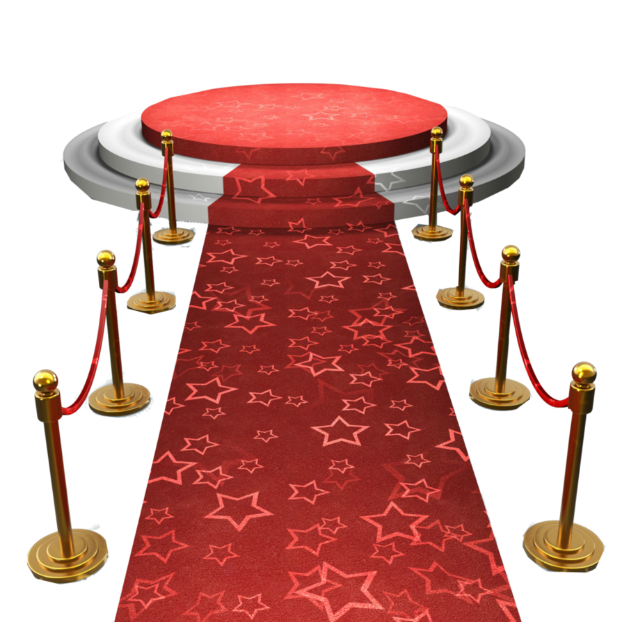 Staircase clipart red carpet. Png stage transparent images