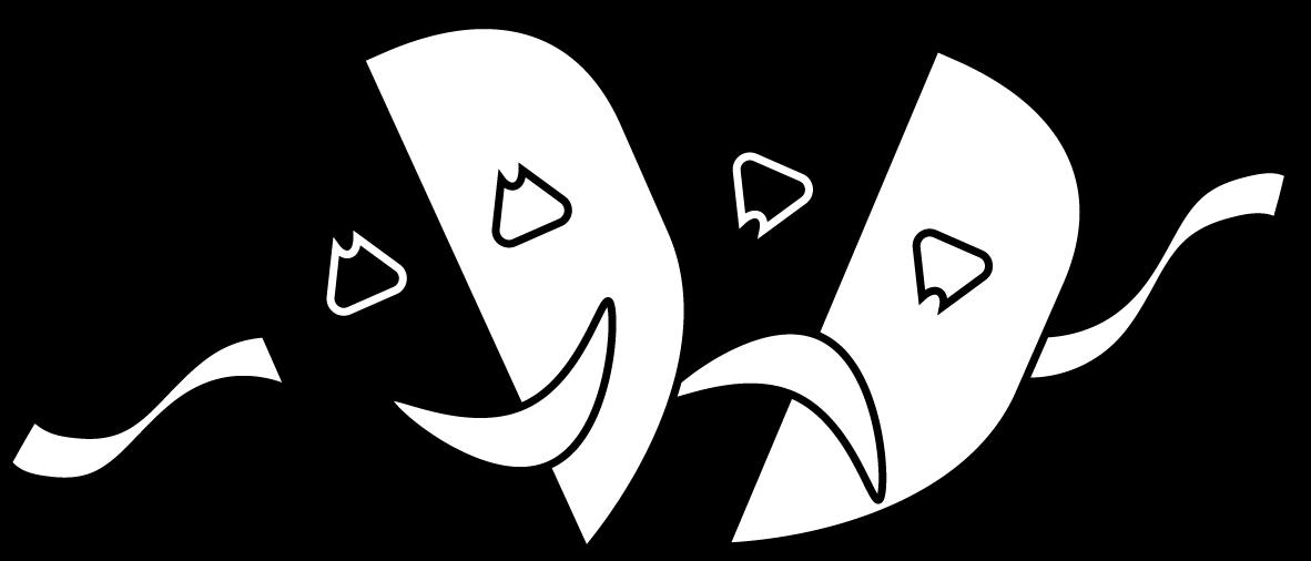 File theatre masks png. Drama clipart drama greek