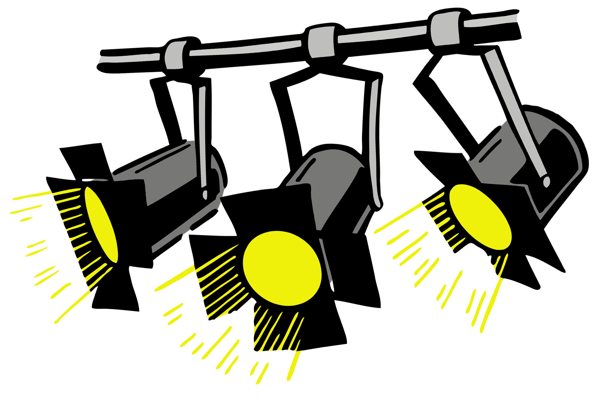 Lights clipart theater, Lights theater Transparent FREE ...