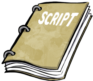 Play . Drama clipart drama script