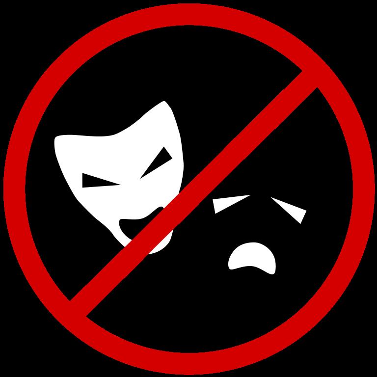 File no svg wikimedia. Drama clipart english drama