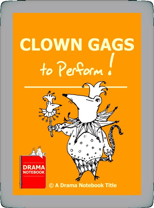 Drama clipart panto. Pantomime notebook clown gags