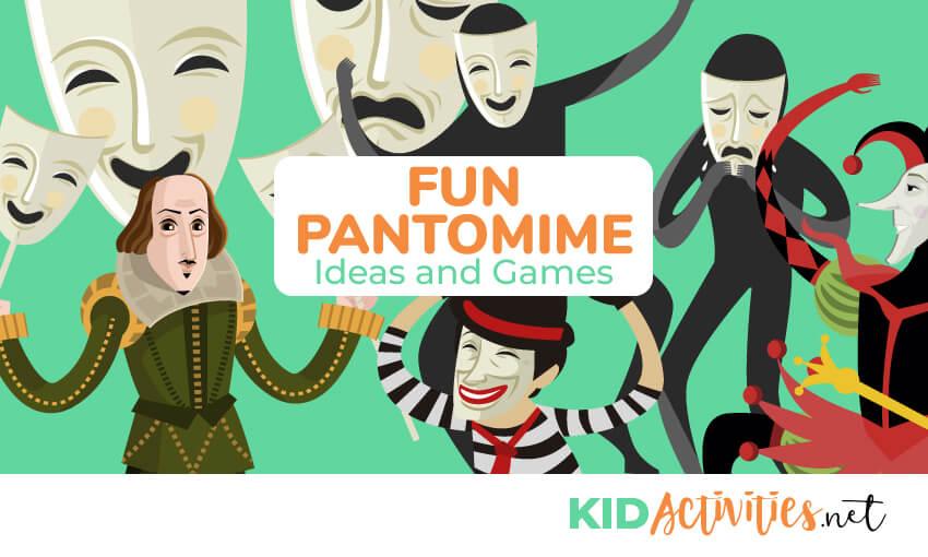 fun pantomime ideas. Drama clipart panto