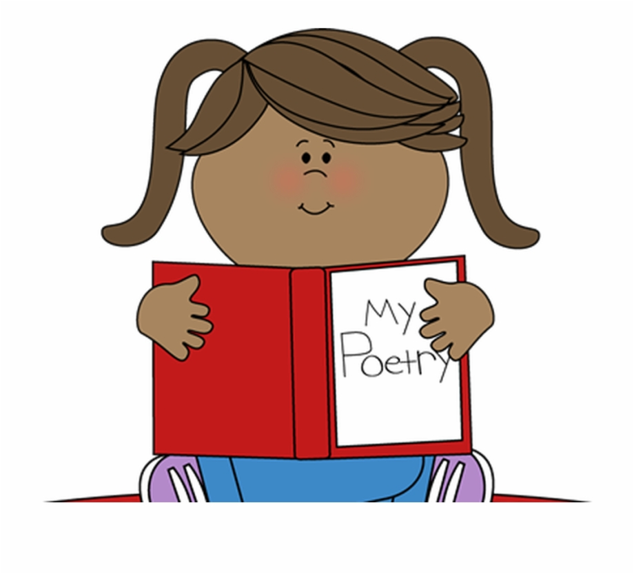Poetry clipart performance poetry. Poem kids reading free