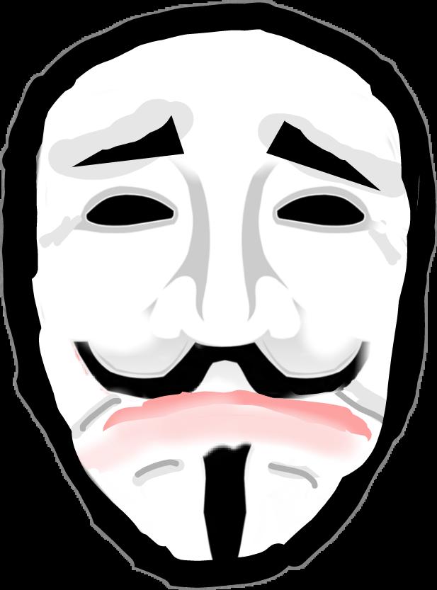 Eyebrow clipart sad. Vendettasadmask mask drama anonymous