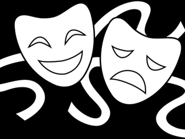 Drama masks free download. Theatre clipart improv