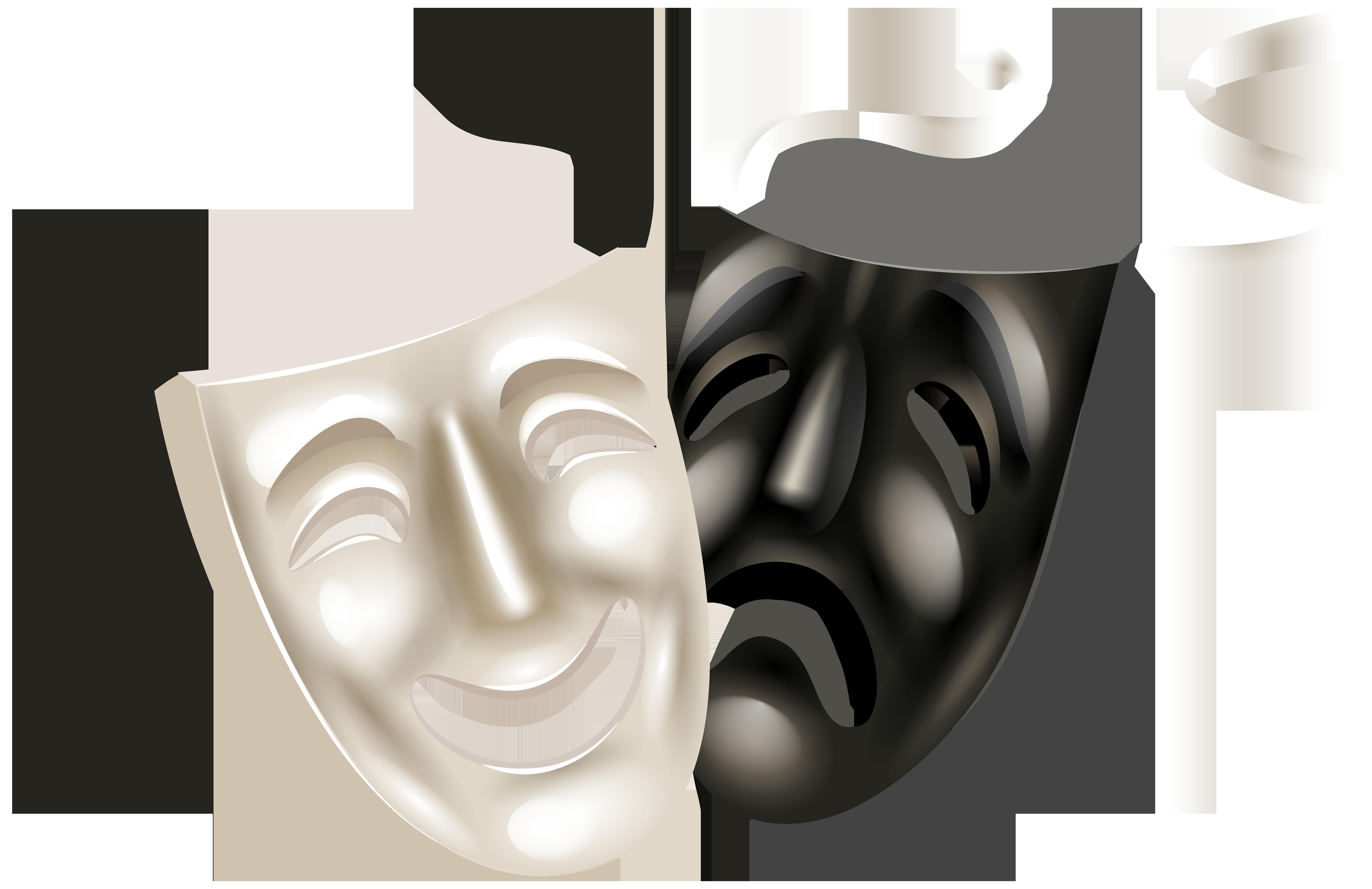 Drama clipart technical theatre. Mask clip art png