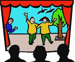 Drama clip art free. Acting clipart animated