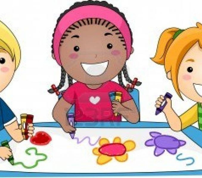 Draw clipart. Kids drawing clip art